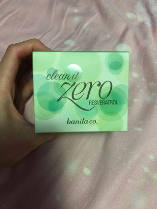 包順豐 全場最平 最後一個 Banila Co. Zero 卸妝膏 reseratrol 綠色 100ml