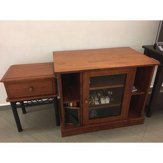 TV Console and Chest Dtawer