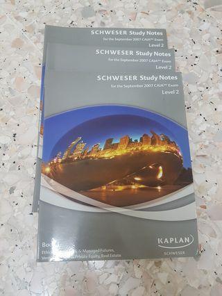 Kaplan Schweser September 2007 CAIA Level 2
