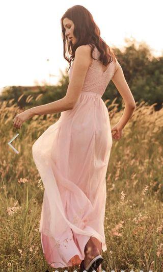 The Closet Lover Kenna Tulle Maxi Dress