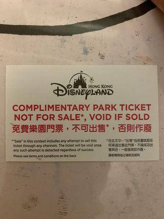 迪士尼樂園門票
