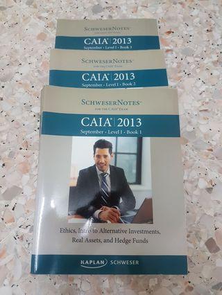 Kaplan Schweser 2013 CAIA Level 1