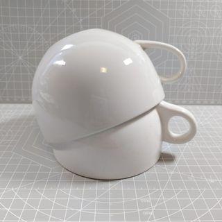 Porcelain Mug, 100% new, price for 2