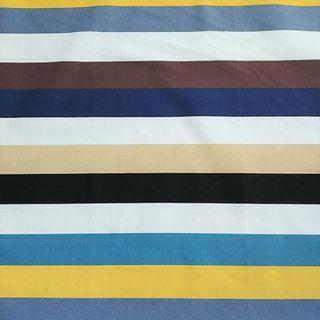 Stripes Linen Table Cloth Cover (Blue)