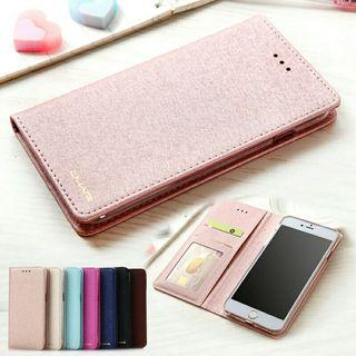 Silk Look Magnetic Flip Case