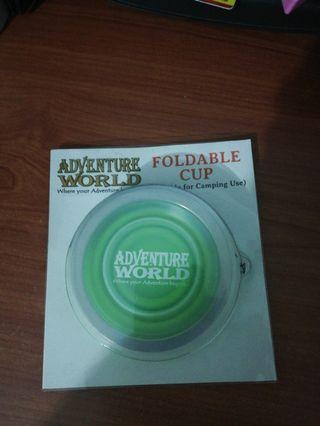 Adventure world foldable cup