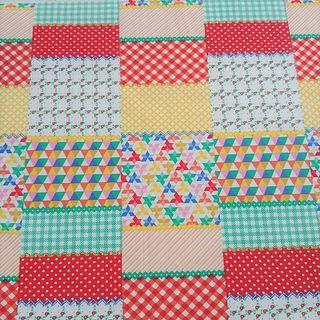 Quilt Patterned Fabric Cloth for Sewing / Art & Craft Projects