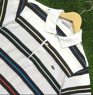 Polo Shirt Lacoste Summer Striped Original