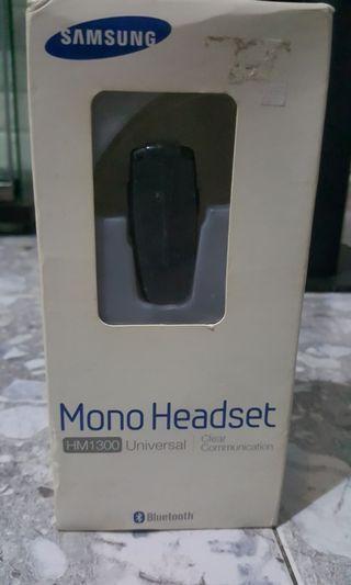 Bluetooth Mono Headset