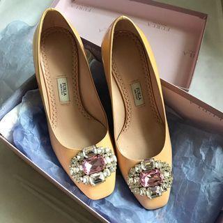 Furla cyrstal heels