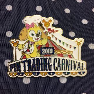 迪士尼襟章 Hong Kong Disneyland Pin Trading Carnival 2019 限量 Cookie pin (LE1300)