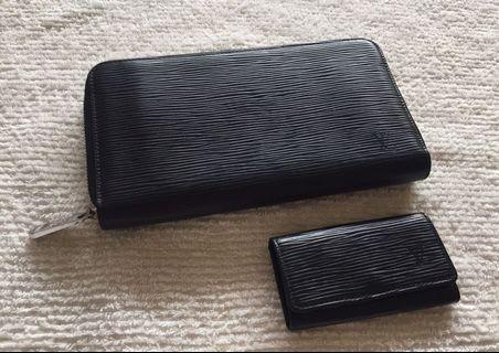 Authentic Louis Vuitton EPI black Wallet