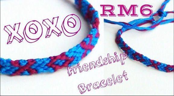 XOXO Friendships Bracelet