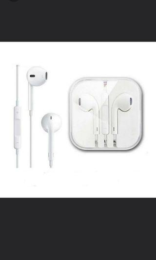 O.E.M. White 3.5mm for phones 5/5s/6/6s plus Earpods earphone with Remote & Mic For iPad/iPod