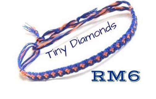 Tiny Diamond Friendship Bracelet