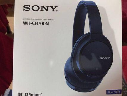 Sony Wireless Noise Cancelling Headset