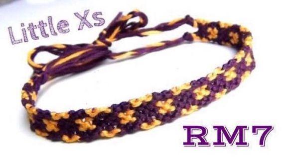 Little Xs Friendship Bracelet