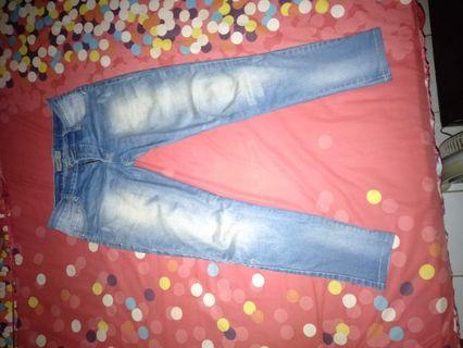 Celana jeans strech Pull n Bear size 29