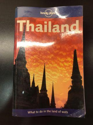 🚚 Thailand lonely planet book
