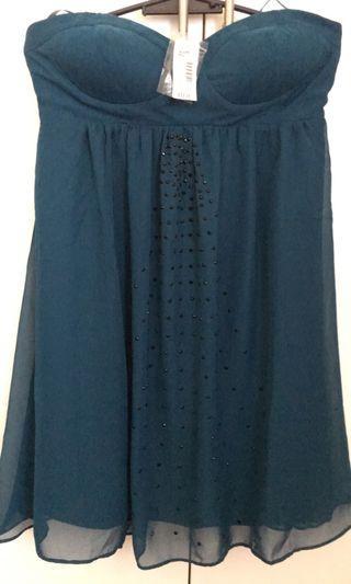 Tube bluegreen Dress