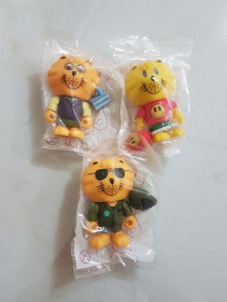 Singapore Merlion toy figurines