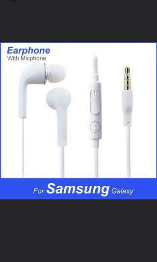 Earphones For Samsung S4 S5 S6 S7 S8 S10 S10+ With Mic
