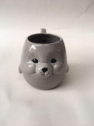 Unyu sea lion mug-ORI Japan