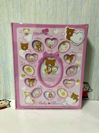 鬆弛熊 粉紅色 相簿 相架 全新 日本 迪士尼 sanrio