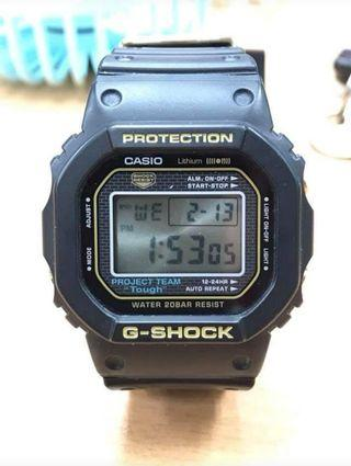 G shock 35th DW5035D fullset.. 90% new 面底無花。帶有正常使用痕跡