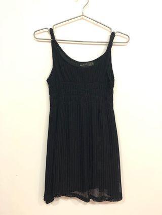 🚚 細肩性感黑洋裝