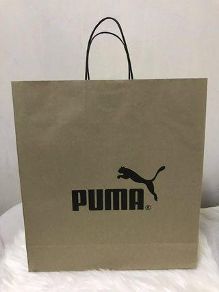 Puma Paper Bag