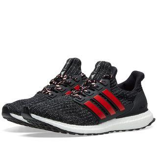 Adidas Ultra Boost 4.0 CNY Core Black / Scarlett Red / Grey