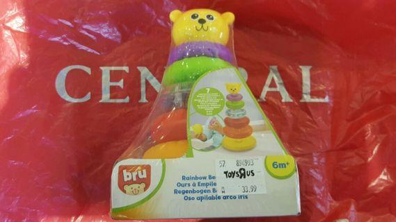 Bru rainbow bear