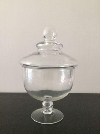 Terrarium glass jar