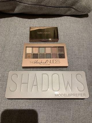 Nude by nature Maybelline Modelsprefer eyeshadow palette set