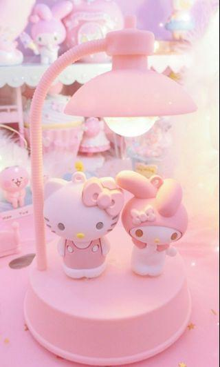 My Melody & Hello Kitty Musical Night Lamp