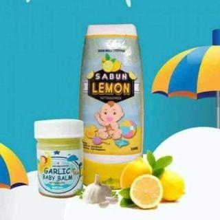 Garlic Balm & Sabun Lemon Set