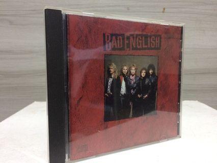 Bad English CD