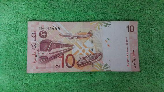 Currency rm1o nicely number collection