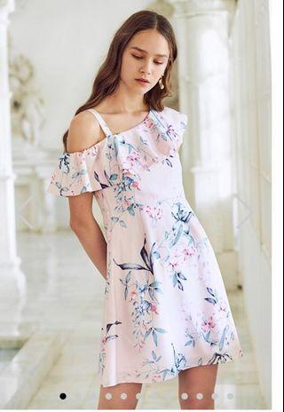 The Closet Lover - Carrin Floral Printed Ruffles Dress