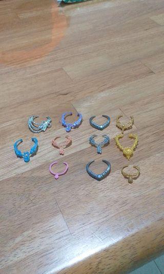 Barbie Doll Necklaces