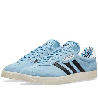 Adidas Gazelle Super x Have A Good Time HAGT Blue