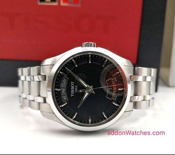 Tissot Couturier Day Date Automatic Watch