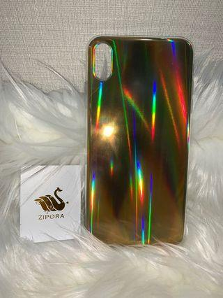 Iphone XS Max Soft Case Gold