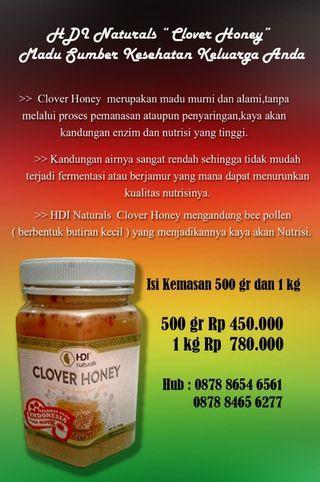 Clover Honey Merk HDI