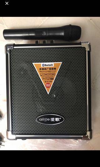 Portable 400w karaoke Amplifier for event line dance Taiji