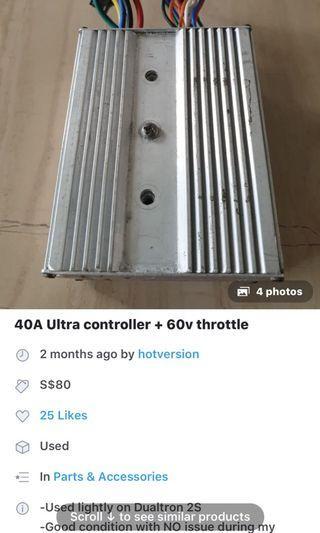 40a b controller