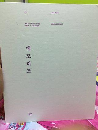 BTS MEMORIES 2017 Without Official PC