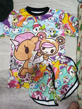 🚚 Tokidoki Donutella Adult Pyjamas Set