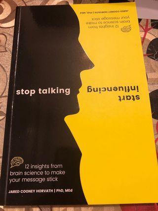🚚 Stop talking, start influencing